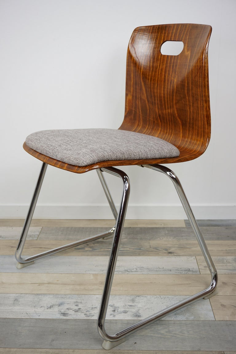 1960s Pagwood Pagholz Design Set of Six Chairs 5