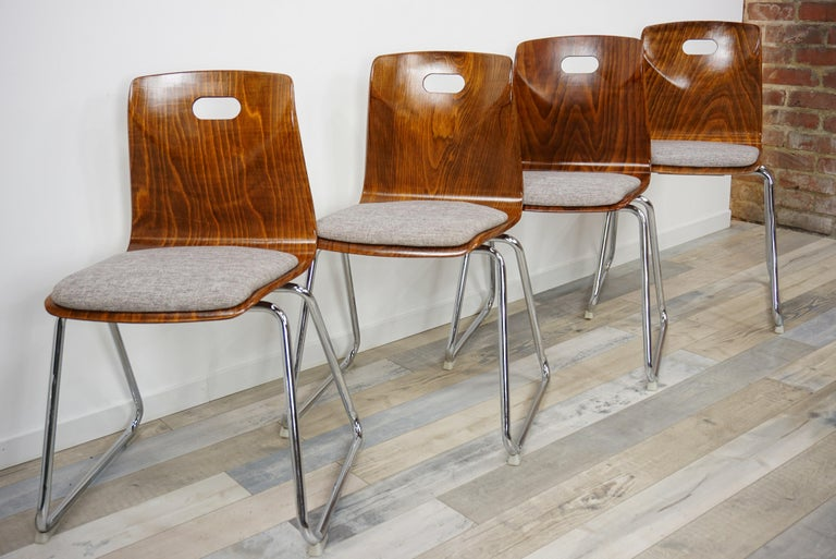 20th Century 1960s Pagwood Pagholz Design Set of Six Chairs