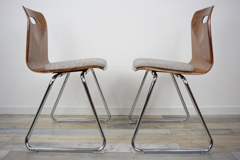1960s Pagwood Pagholz Design Set of Six Chairs 1
