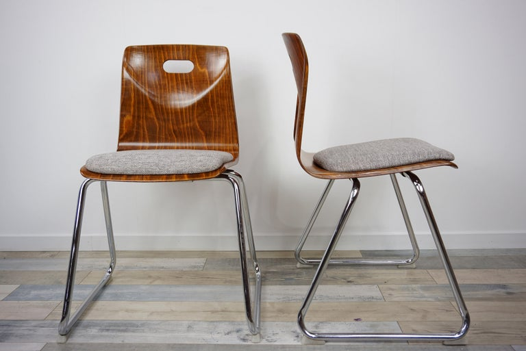1960s Pagwood Pagholz Design Set of Six Chairs 2