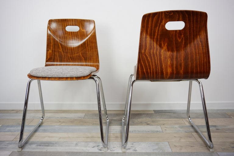 1960s Pagwood Pagholz Design Set of Six Chairs 3