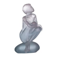 Deville Chabrolle Sculpture 'Aphrodite' Daum