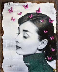 Sweet Dreams - Popart, Audrey Hepburn, Contemporary Art, Ltd. Edition, 21stC