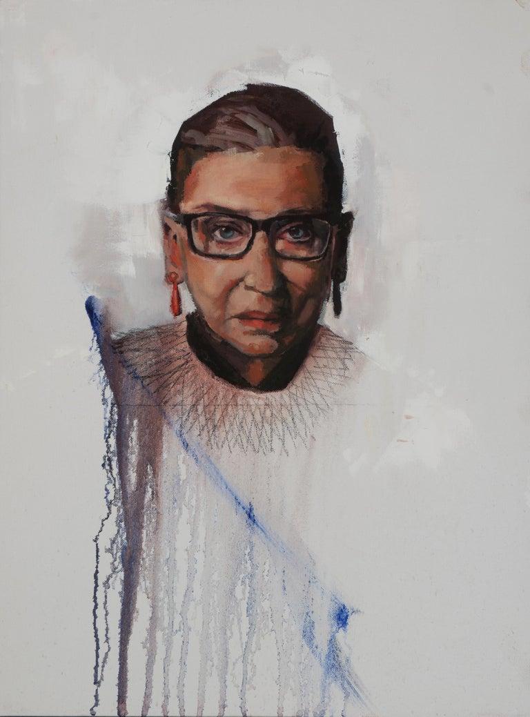Devorah Jacoby Portrait Painting - RBG