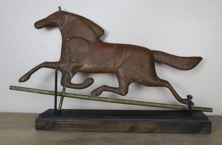 Dexter Horse Weather Vane on Iron Base For Sale 3