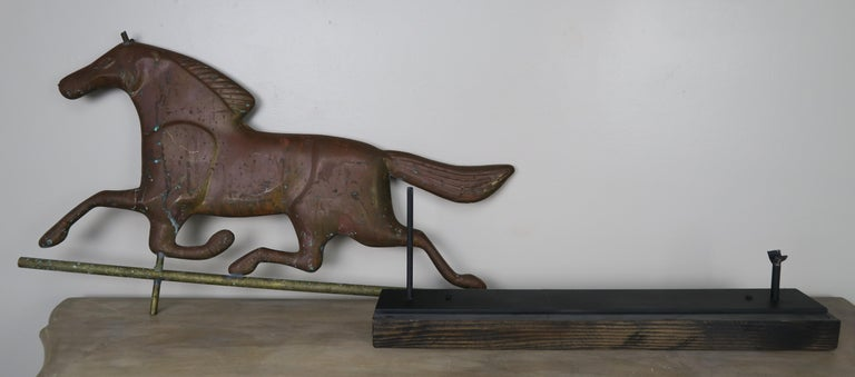 Dexter Horse Weather Vane on Iron Base For Sale 4