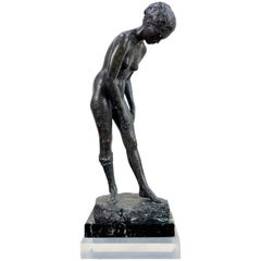 Dexter Jones Bronze Female Nude Figural Study