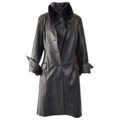 Dexter Wong Black Dual Layered Vegan Leather Jacket