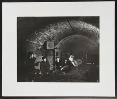 """Beatles at Liverpool's Cavern Club, April 1963"", Photograph by Dezo Hoffman"