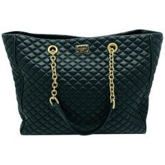 D&G Large Quilted Tote Bag Leather