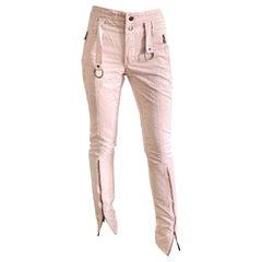 D&G S/S 2003 Pink Bondage Pants