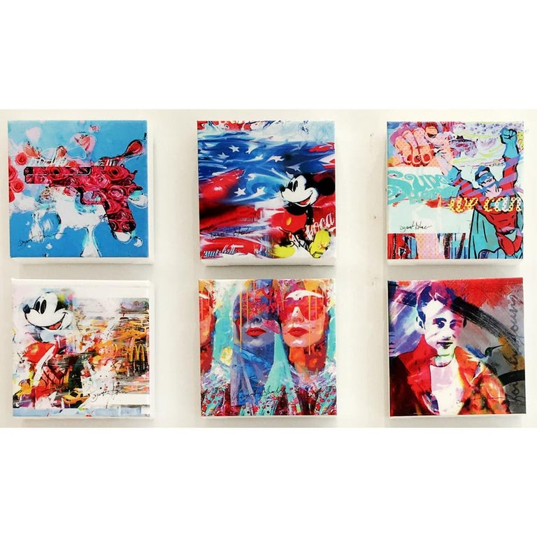 Et Dieu Crea La Femme, Mixed Media  - Contemporary Mixed Media Art by Dganit Blechner