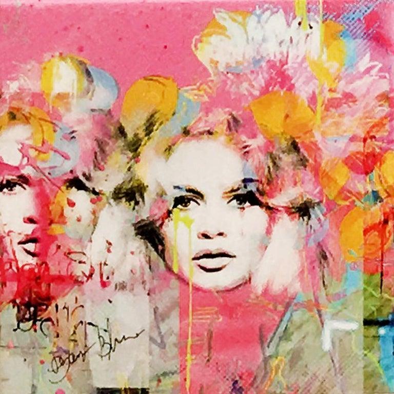 Et Dieu Crea La Femme, Mixed Media  - Mixed Media Art by Dganit Blechner