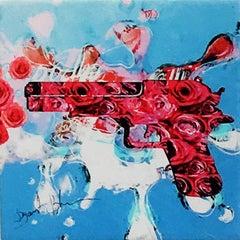 Guns & Roses, Mixed Media