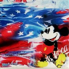 Happy Mouse, Mixed Media