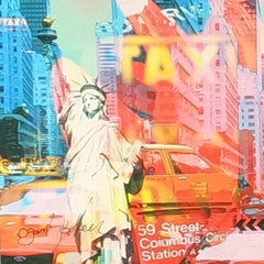 New Liberty, Mixed Media