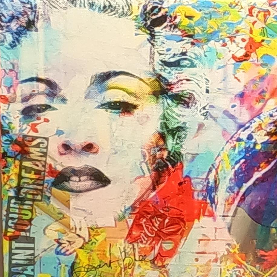 Paint Your Dreams, Mixed Media