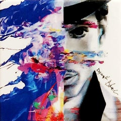 Purple Prince, Mixed Media