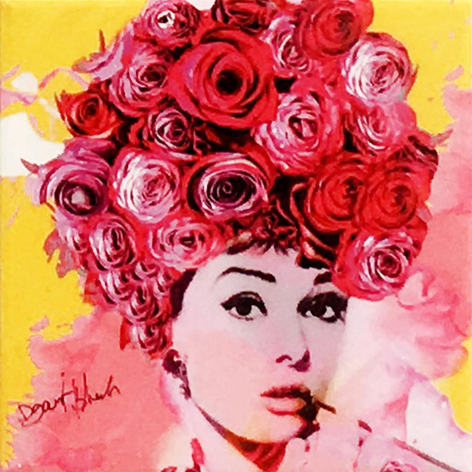 Rose is Back, Mixed Media