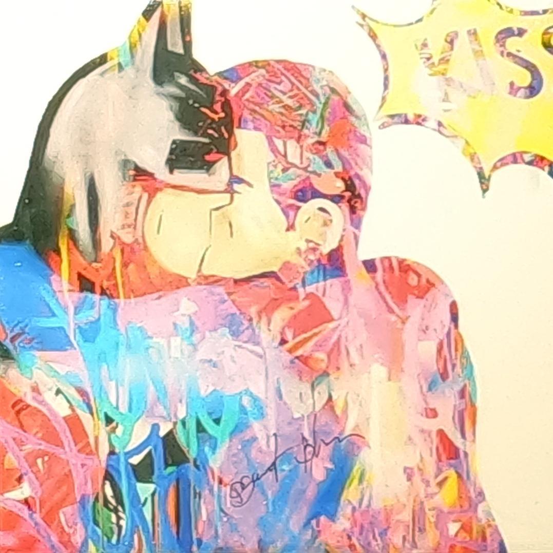 The Kiss, Mixed Media