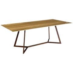 Di Froscia Marmi, Table Corten Base Travertino TZ1, 2020
