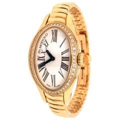 Di Modolo 18 Karat Yellow Gold Diamond Ladies Tempia Watch