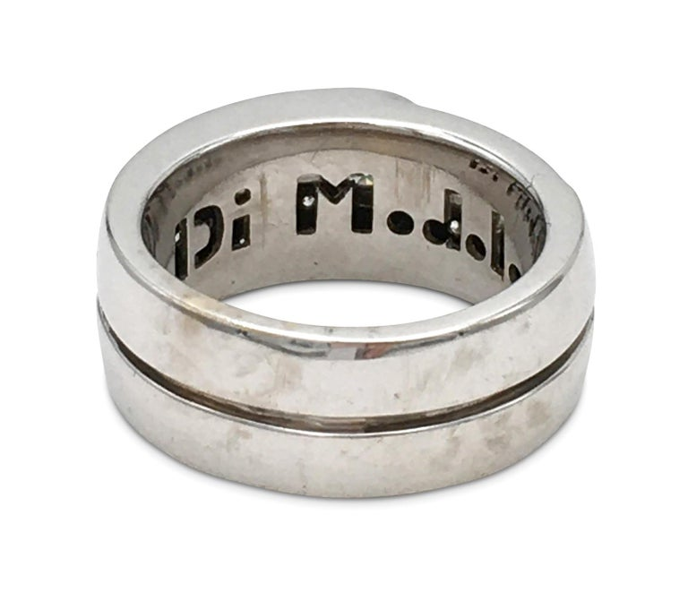Di Modolo White Gold and Diamond Ring In Excellent Condition For Sale In New York, NY