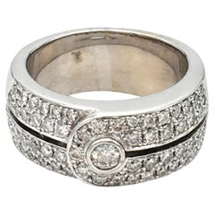 Di Modolo White Gold and Diamond Ring