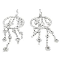 Di Modolo White Gold Diamond Tempia Earrings