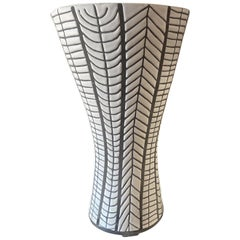 """Diabolo"" Ceramic Vase by Roger Capron, France"