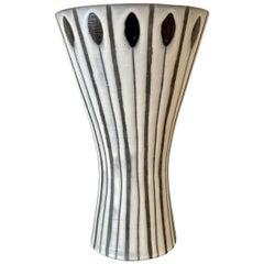 Diabolo Vase by Roger Capron, Vallauris
