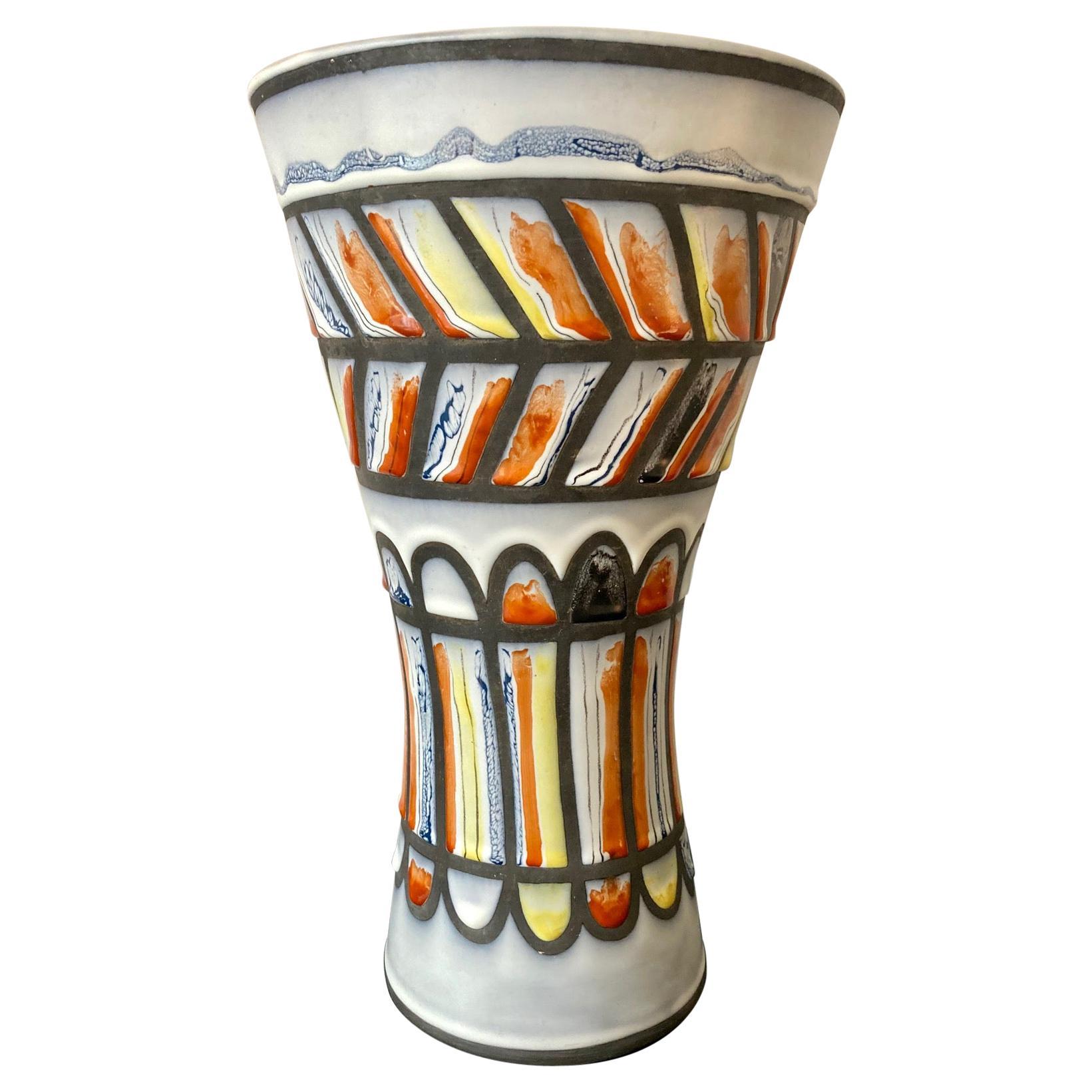 """""""Diabolo"""" Vase by Roger Capron, Vallauris"""