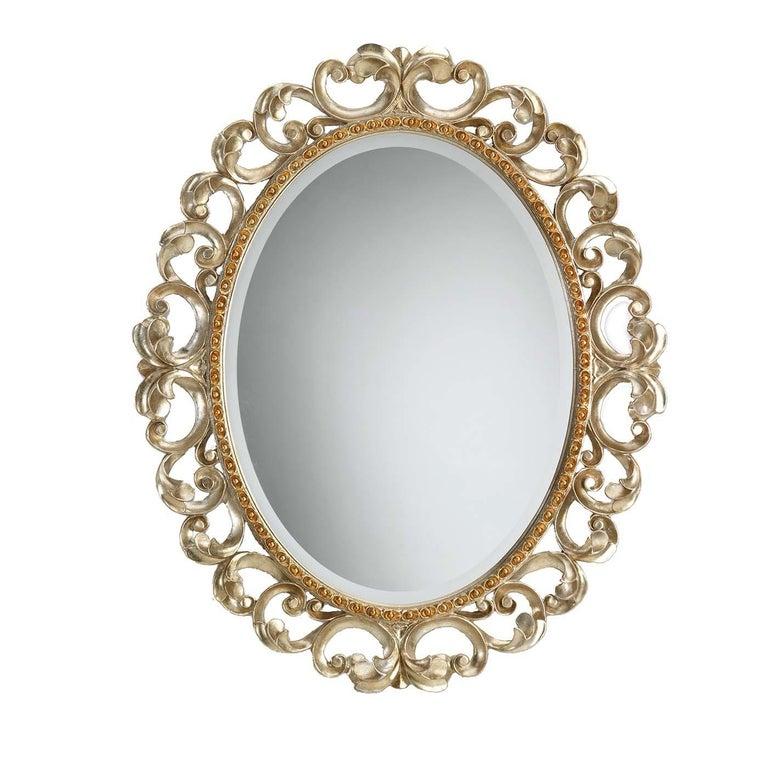 Italian Diadema Wall Mirror For Sale