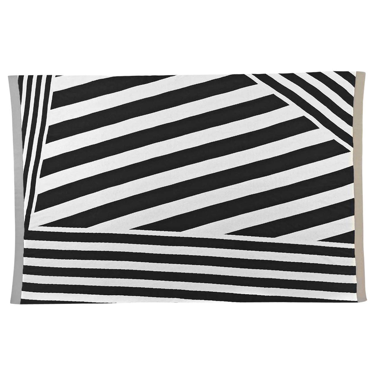 Diagonal Bands Blanket by Roberta Licini
