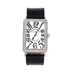 Dial 18K White Gold Diamonds Long Island White Magic 1000 SCD Unisex Wristch 30