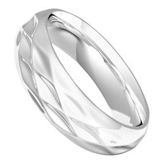 Diamant du Musée Sterling Silver Semi-Bold Ring by House New York, Limited Edit.