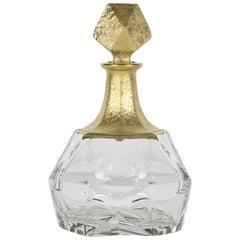 Diamante Onda Transparent and Gold Bottle