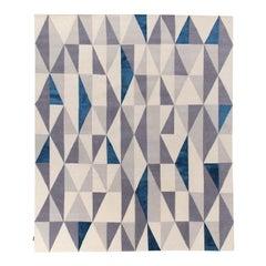 Diamantina Blue Carpet by Gio Ponti