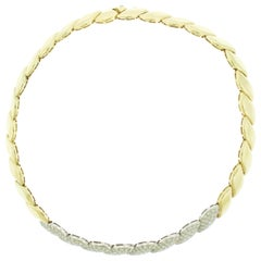 Diamond 14 Karat Gold Necklace