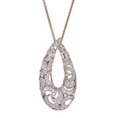 Diamond 14 Karat Gold Pendant