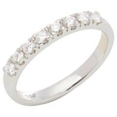 Diamond 18 Carat White Gold Diamond Eternity Ring