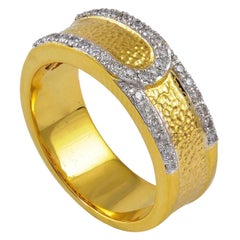Diamond 18 Karat Gold Eternity Ring