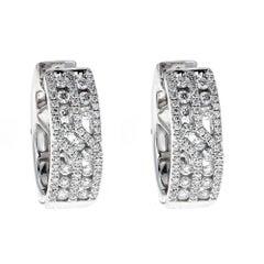 Diamond 18 Karat Gold Gregg Ruth Earrings