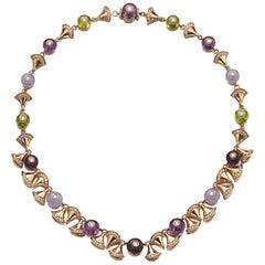 "Diamond and Colored Gem ""Divas Dream"" Necklace by Bvlgari"