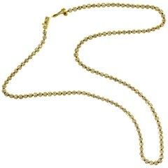 Diamond and Gold Necklace, by Lucy Campbell, London