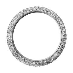 Diamond and White Gold Bezel for Rolex