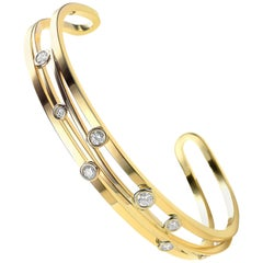 Diamond and Yellow Gold Van der Veken Varens Bracelet