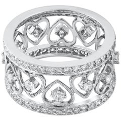Diamond Antique Style Fashion Band Ring