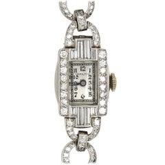 Diamond Art Deco Women's Wristwatch