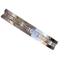 Diamond Baguette Eternity Wedding Stackable Bands - 14k W- 1.25+ CTW -Ben Dannie